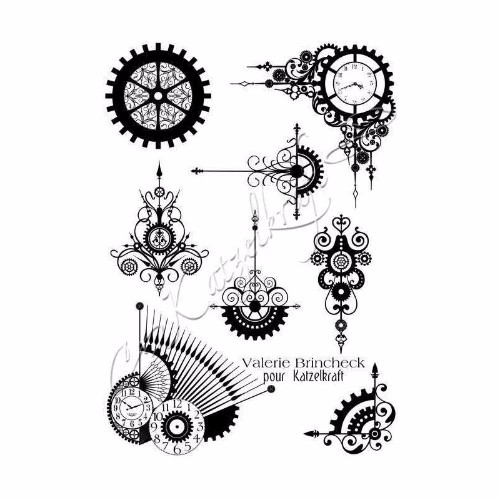 steampunk-swirl-rubber-stamp-french-style
