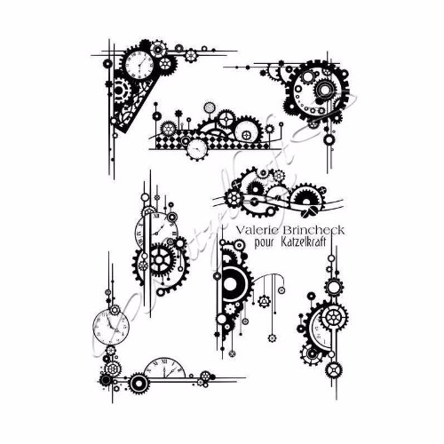 steampunk-element-rubber-stamp-french-style