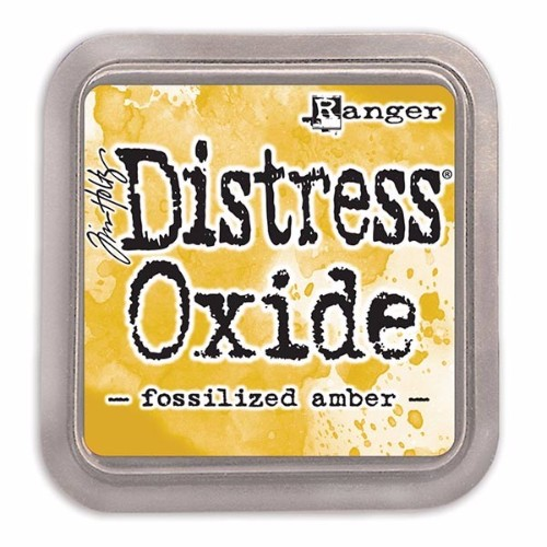 Distress Oxides – Fossilized Amber