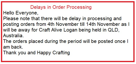 Delay in Order Processing
