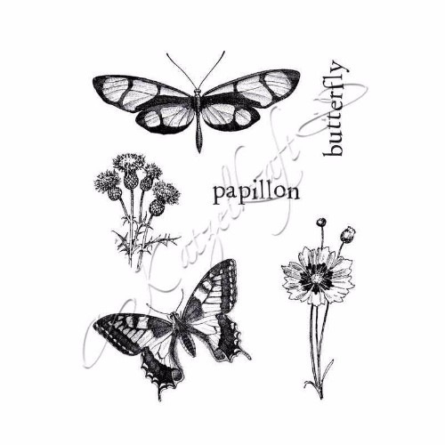 papillons-02-rubber-stamp-french-style-ktz74